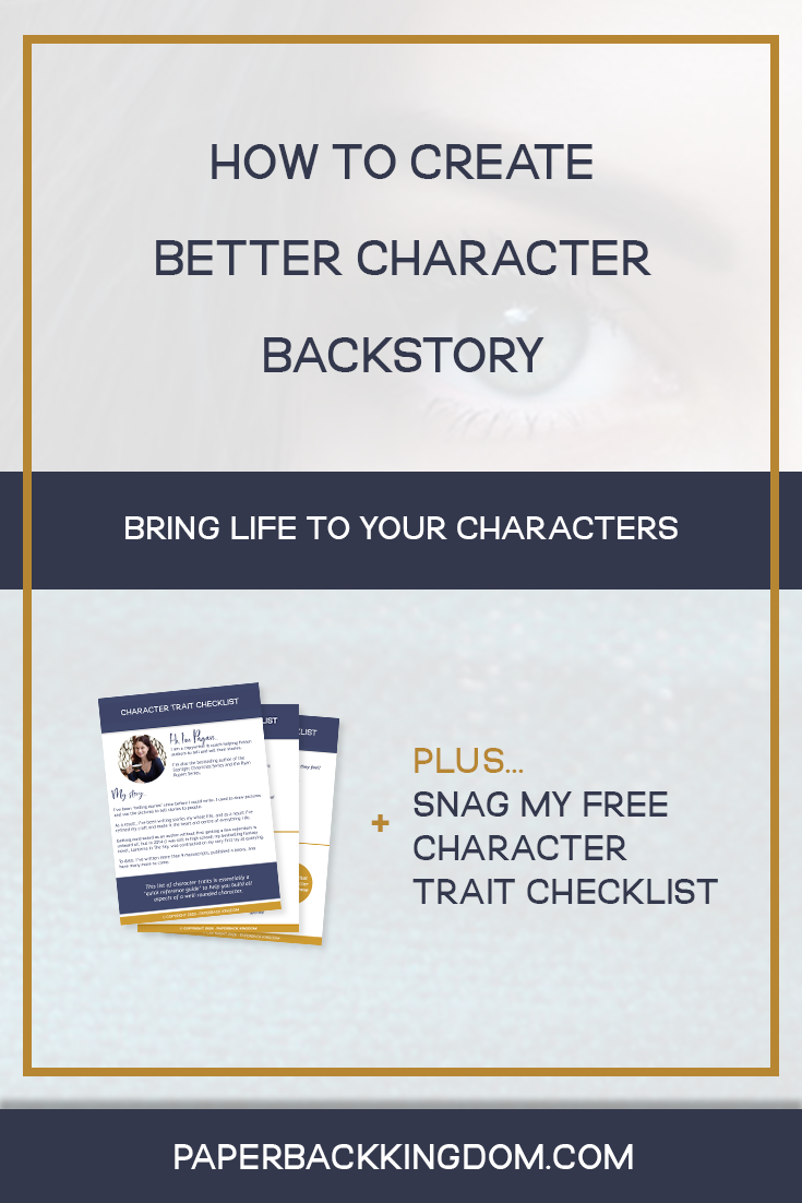 How to Write Characters Your Readers Will Love