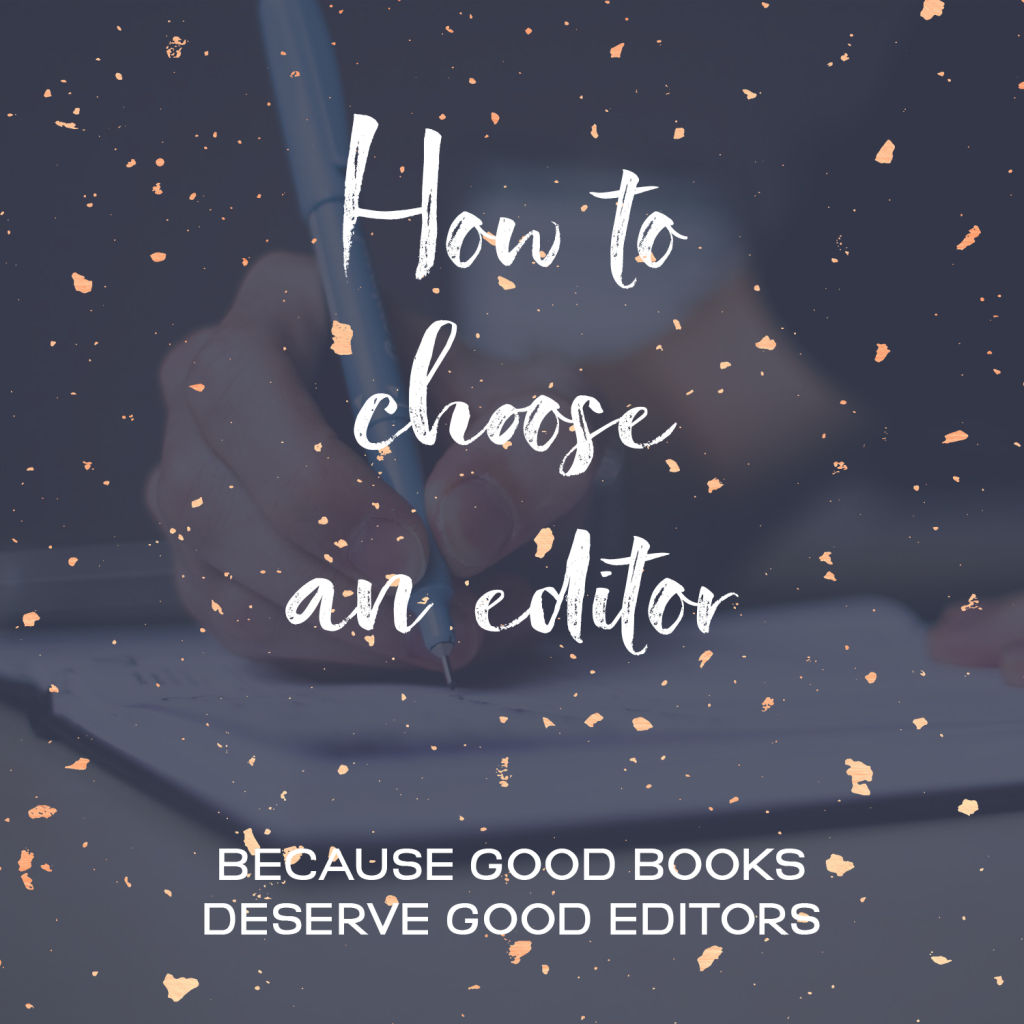 How To Choose An Editor