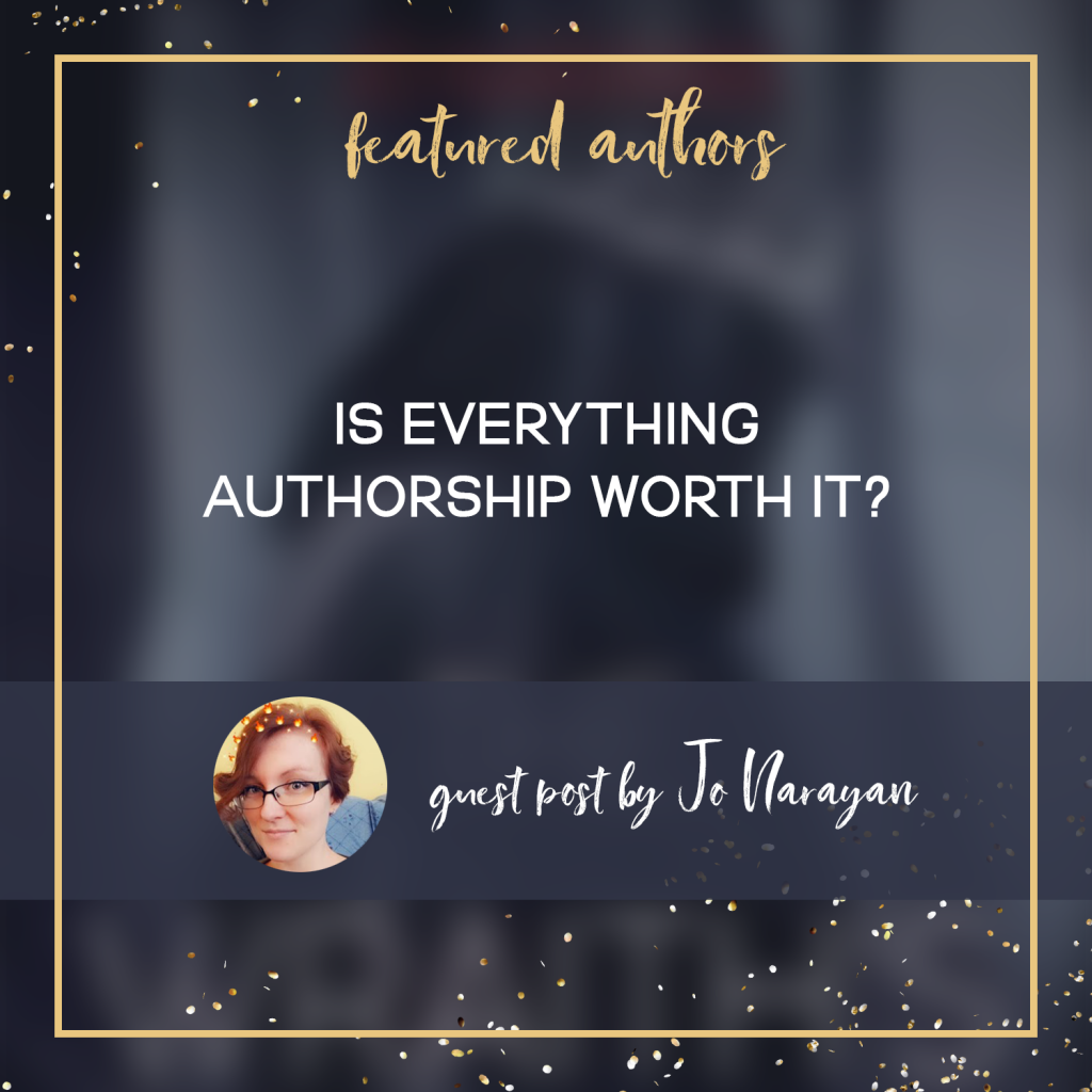 Is Everything Authorship Worth It? (Guest Post By Jo Narayan)